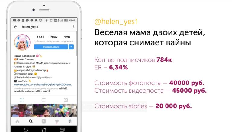 Инстаграм — новый тренд?